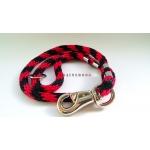 Guinzaglio Corda Rosso Nero 100 cm