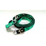 Guinzaglio 240 cm nero e verde