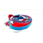 Guinzaglio 240cm blu e rosso